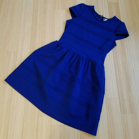 Anthropologie Dresses   Skirts - Girls From Savoy Royal Blue Dress Size 14 8ea32722d