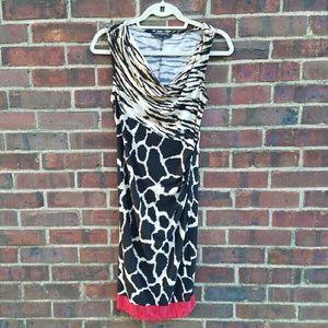 Dresses & Skirts - Animal Print Sleeveless Dress