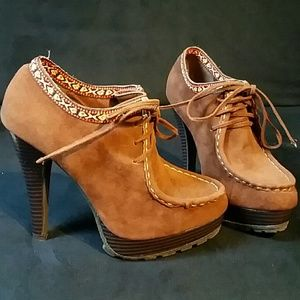 Anne Michelle Shoes - Clearanced marked..suade Shoes