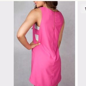 New LoveRiche Fuchsia Side Cut Out Dress Large NWT