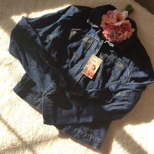 BCBGMaxAzria Jackets & Coats - Vintage BCBG Denim Jacket