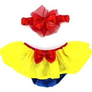 Snow White Diaper cover & head band new Disney