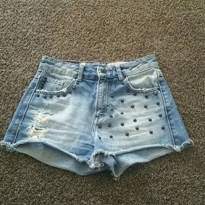Pull&Bear Pants - Pull&bear short