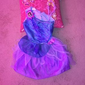 DISNEY GIRL'S COSTUME. SIZE 4-6