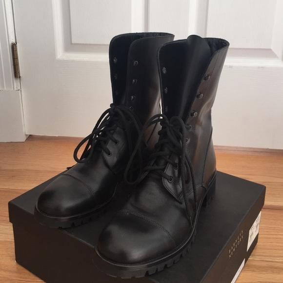 Barneys Leather Boots 7MgFuh1C