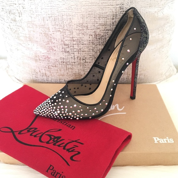 low cost for sale Christian Louboutin Strass Crystal Pumps free shipping exclusive XDLDm