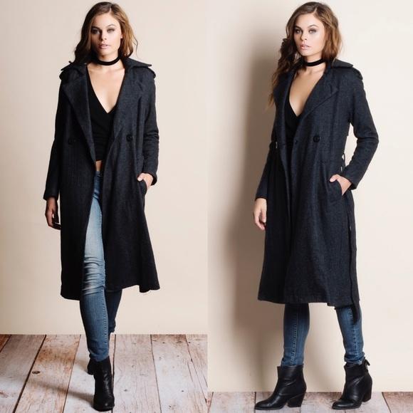 Bare Anthology Jackets & Blazers - Heavyweight Belted Coat Jacket