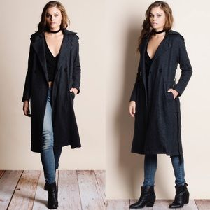 Heavyweight Belted Coat Jacket