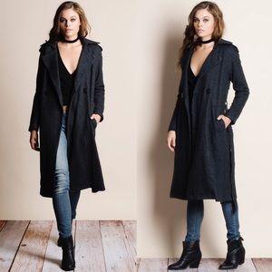 Bare Anthology Jackets & Coats - Heavyweight Belted Coat Jacket