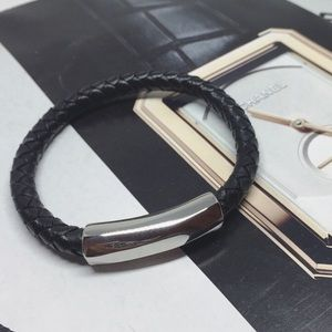 Other - ‼️CLEARANCE‼️Men's Stainless Steel leather