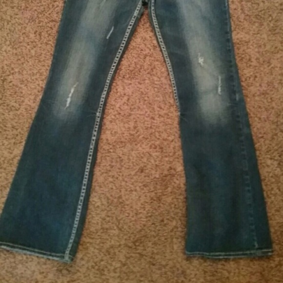 50% off Silver Jeans Denim - Silver jeans with gold jeans size 32 ...