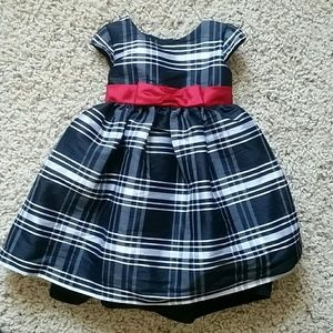 Pippa & Julie Other - Toddler girl blk/wht Holiday dress