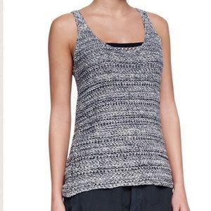 Anthropologie Tops - Vince Open Knit Sweater Tank Top silk/Linen Small