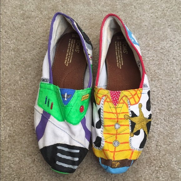 Custom Toms Toy Story Disney Shoes