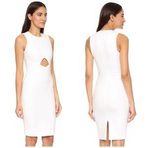 SALE Elizabeth & James White Cutout Dress