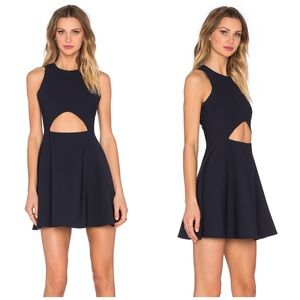 Elizabeth and James Dresses & Skirts - Elizabeth & James Navy Cutout Dress