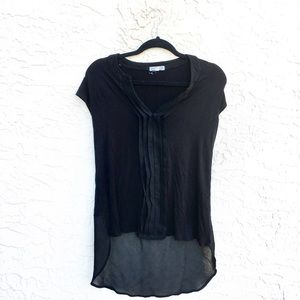 Anthropologie Pelione black high low top