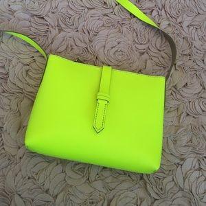 J. Crew Handbags - Jcrew neon yellow crossbody