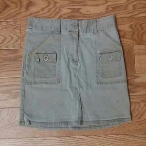 Women's Tracy Evans limited size 9 khaki skirt