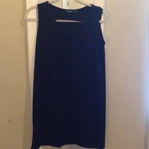 Boohoo cutout top sleeveless shift dress