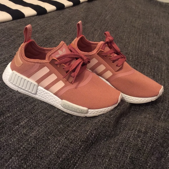 17df2dfd1730 Adidas Shoes - Adidas Boost NMD R1 Pink Salmon Women s 8
