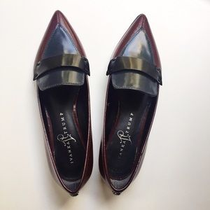 Ivanka Trump tri color loafers