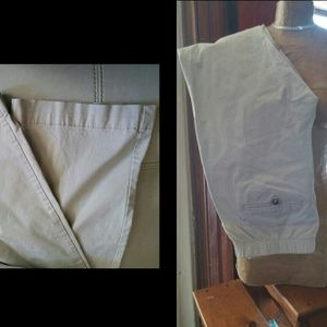 Light Khaki Maternity Pants.  Reg/Medium