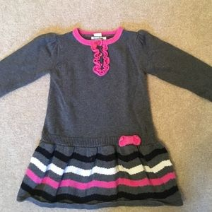Hartstrings Other - Pink and Grey Sweater Dress