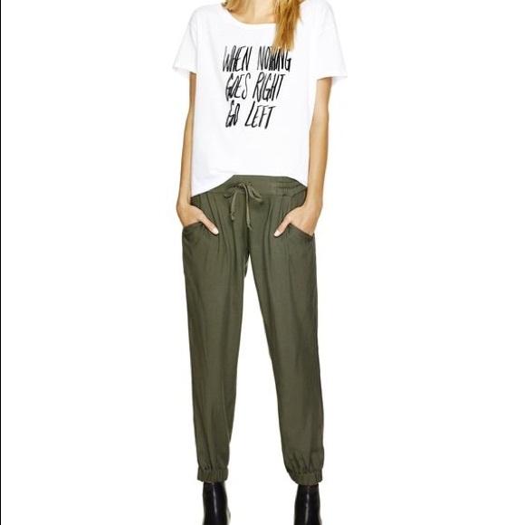 b8f22030f60a2 Aritzia Pants - Sale! Aritzia Talula Drawstring pants