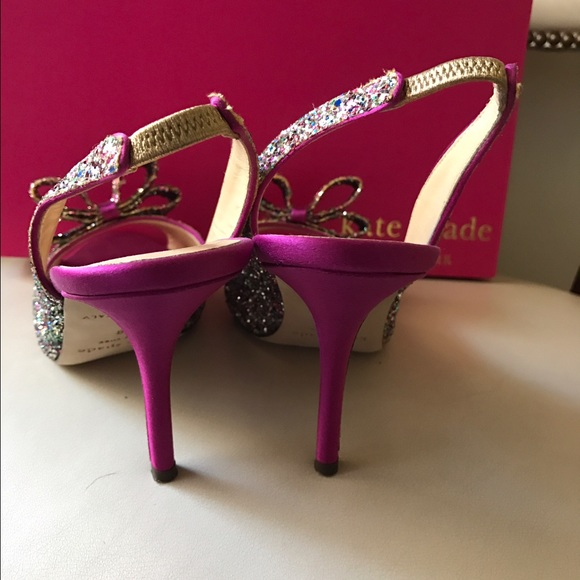 71 kate spade shoes kate spade charm multi glitter