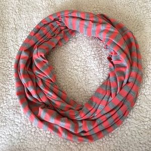 Accessories - Striped Infinity Scarf