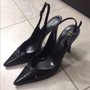 Ralph Lauren black classic heels!