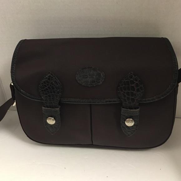 214e0f7458cd Longchamp Handbags - Longchamp brown planetes Messenger Cross body bag