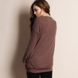 """Bare Anthology Sweaters - 1HRSALE """"Absent Traveler"""" Soft Fuzzy Sweater Top"""