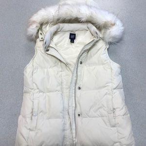Gap puff vest size xs