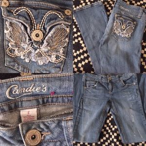 Distressed Light Wash Candies Denim