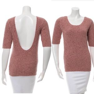 Opening Ceremony Tops - Open Ceremony Scoop Back Sweater Sz S