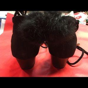 Shoes - Faux suede dress flats