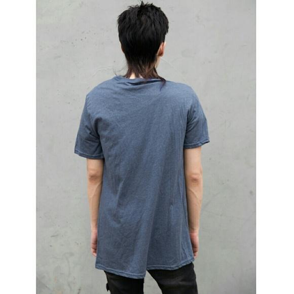 Apt. 9 Shirts - NEW Blue Graphic Tee Men's Unisex Wheel Medium M