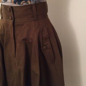 French Connection Skirts - Brown French Connection military skirt