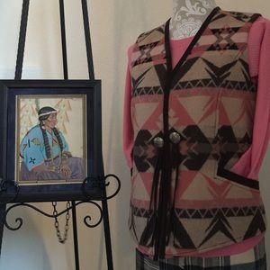 PENDLETON Tribal Vest Authentic, Sz Small