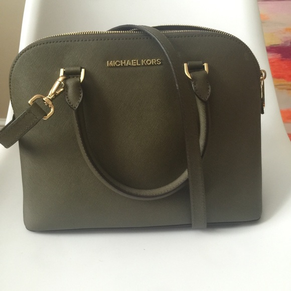 23% off Michael Kors Handbags - Michael Kors Olive Green Bag from ...