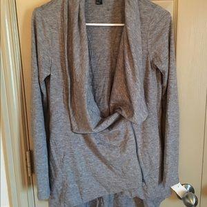 Grey side zip jacket