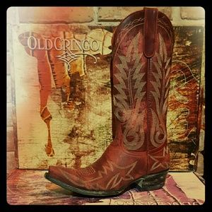 Old Gringo Shoes - Brand NEW, Never Worn - Old Gringo Boots