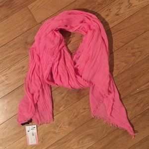 Accessories - NWT Hot Pink Scarf