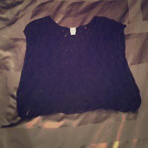 ⚠️SALE⚠️Mossimo Black Sweater Tunic