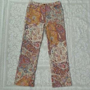 Etro Denim - Etro Enchanting tapestry print denim