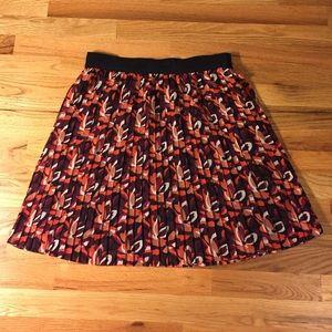 Loft Fashion Dresses & Skirts - Loft Pleated Floral Skirt NWOT