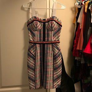 Rebecca minkoff navy blue dress