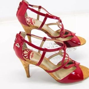 Fergalicious Shoes - Red Heels